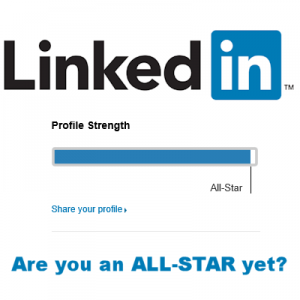 Are  you a LinkedIn Allstar yet?